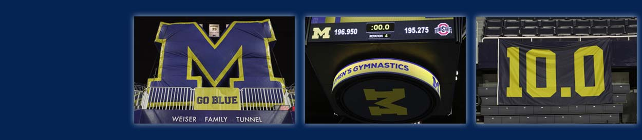 University of Michigan Gymnastics 10.0 Boosters